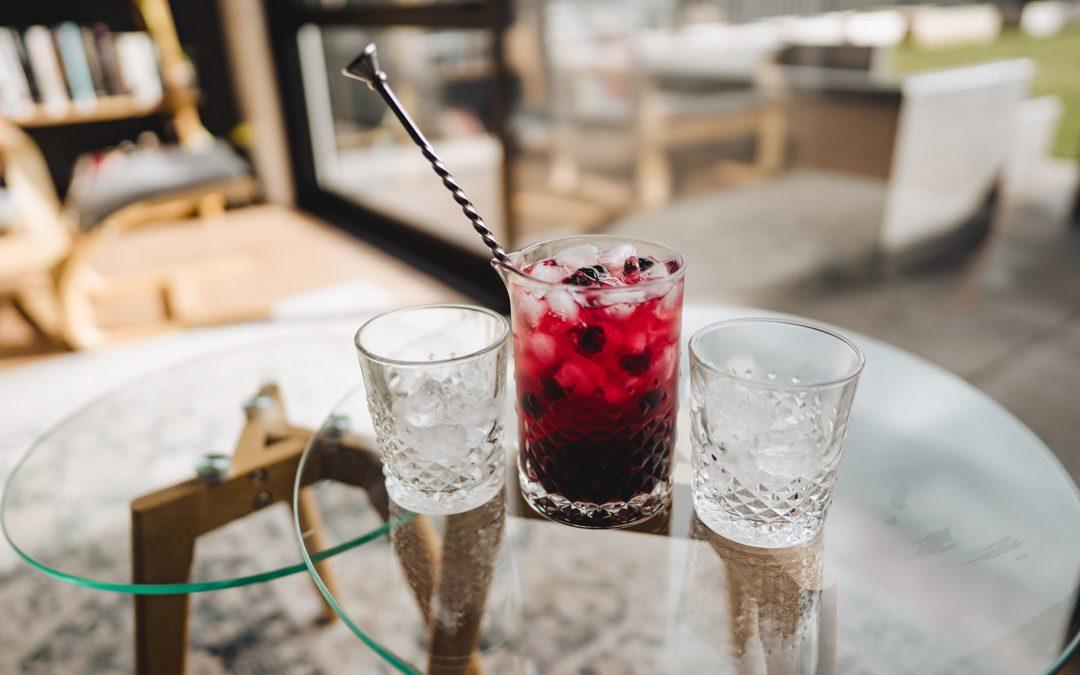 Blueberry & Ginger Gin Cooler