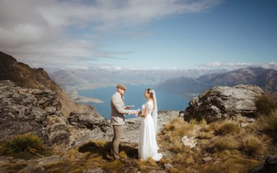 Judy & Mark's Queenstown Heli-Wedding & Picnic