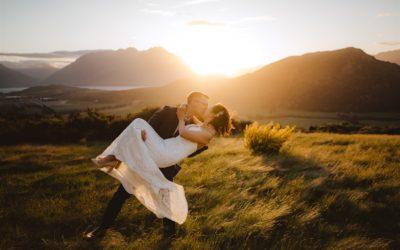Helen & Pierre's Queenstown Heli-Wedding at Mount Crichton