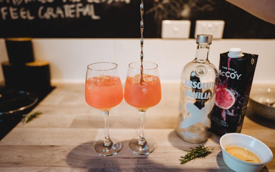 Rosemary Blush Vodka Cocktail